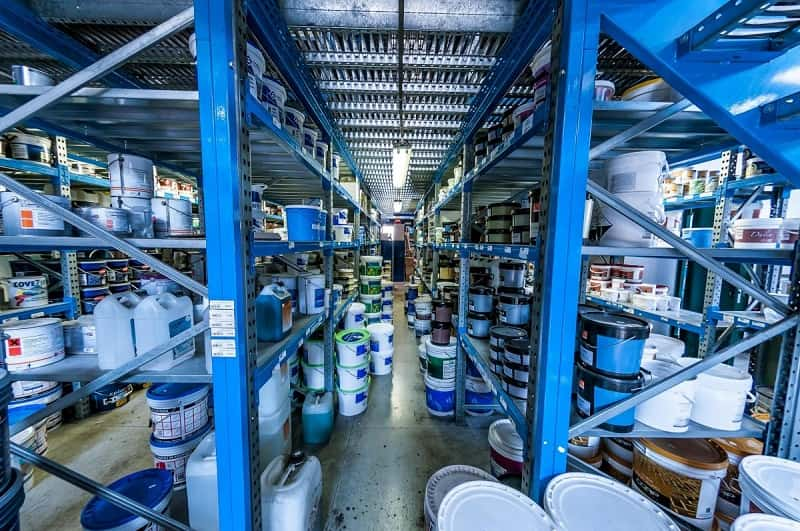 deposito vernici per edilizia ed industria a Covo, RSC Raffaello